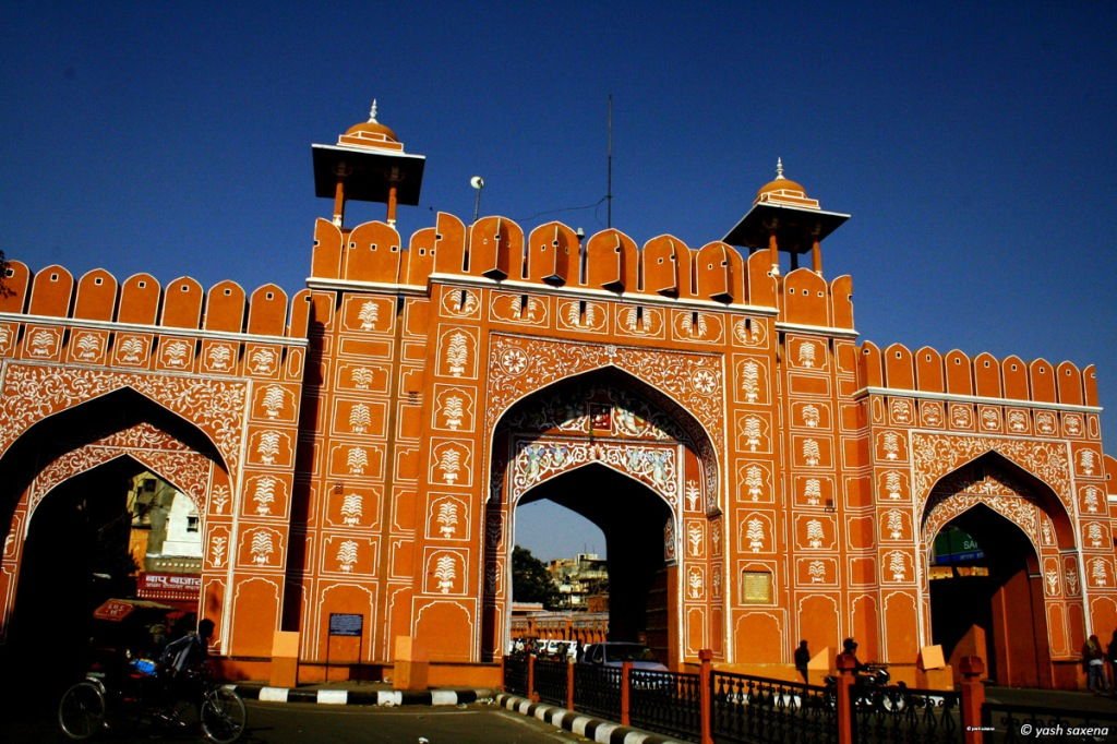 Gateway to the Pink City